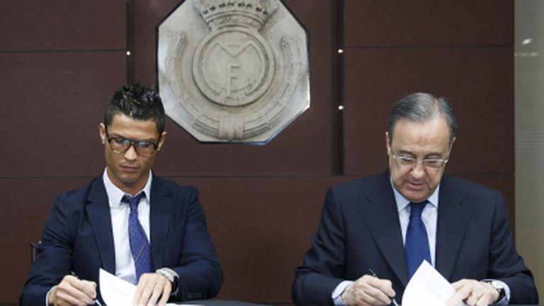 Кристиано ще вземе над 100 млн., Реал Мадрид ще плати над 200