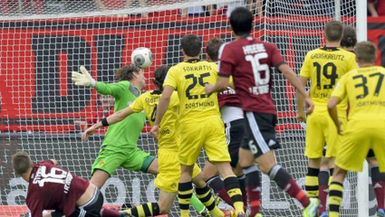 Серията на Борусия (Дортмунд) приключи в Бавария (видео)