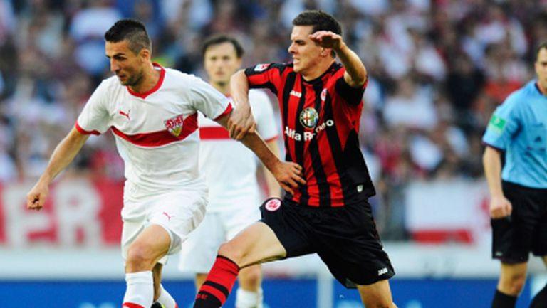 Късметът обърна гръб на Ибишевич и Щутгарт (видео)