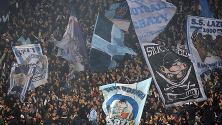 """Арестуваха седем """"лациали"""" след дербито на Рим"""