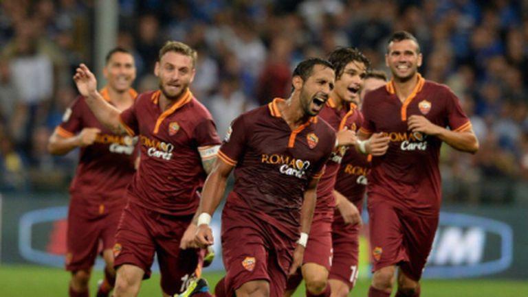 """Феноменален старт на Рома! """"Вълците"""" нямат спирка (видео)"""