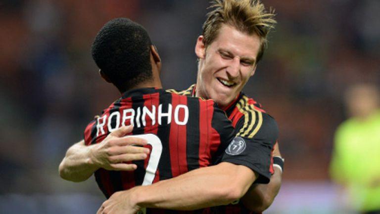 Милан пое въздух преди Аякс и Ювентус (видео)