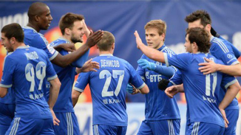 Победа за Динамо (Moсква) и дебютен гол на Жирков (видео)