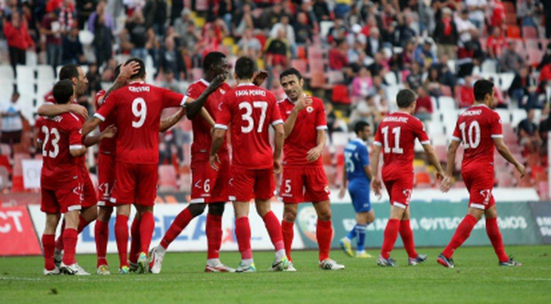 ЦСКА изигра най-силния си мач и прегази Черноморец (видео)