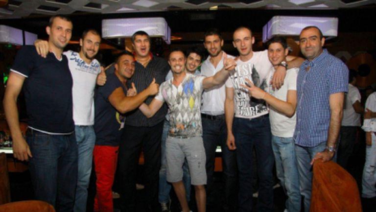 Любо Ганев организира купон за националите тази вечер
