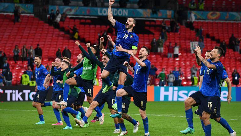 Италия най-често играе продължения на еврофинали
