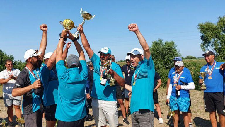 Тони Димитрова награди шампионите по риболов