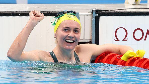 Ариарне Титмус изненада Кейти Ледецки и донесе първо злато на Австралия на 400 м св. стил