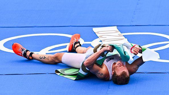 Норвежец триумфира в триатлона