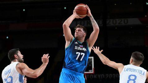 Лука Дончич заби 48 точки, пренаписа олимпийската история и донесе историческа победа на Словения 🏀