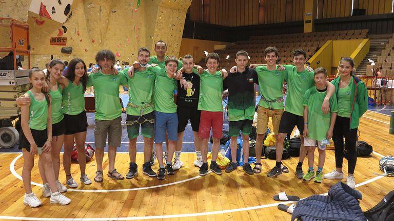 Три титли и сребро за България на Европейската купа по спортно катерене във Велико Търново