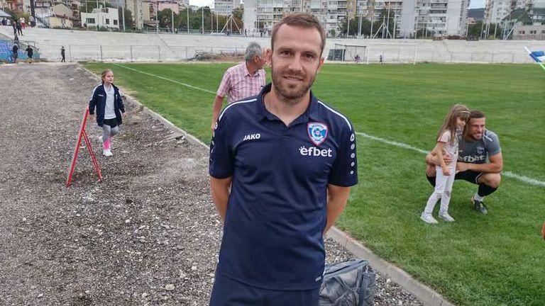 Васил Петров: И при 1:0 за Нефтохимик не се съмнявах в победата на Спартак