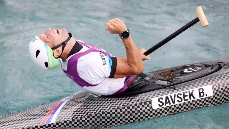 Бенямин Савшек от Словения спечели титлата на едноместен каяк в бързи води