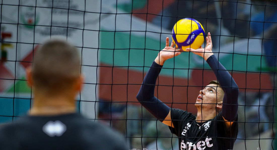 Открита тренировка на мъжкия национален отбор по волейбол на България