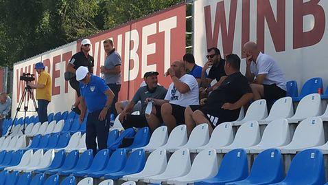 Горан Пандев се появи в София