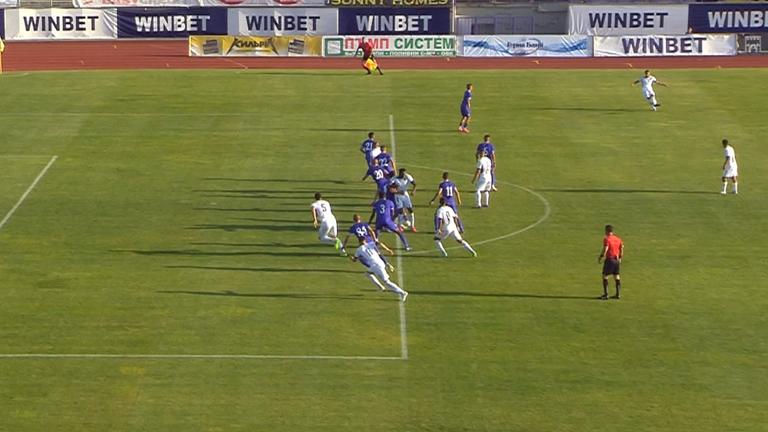 63' Етър - Левски (Лом) 1:0