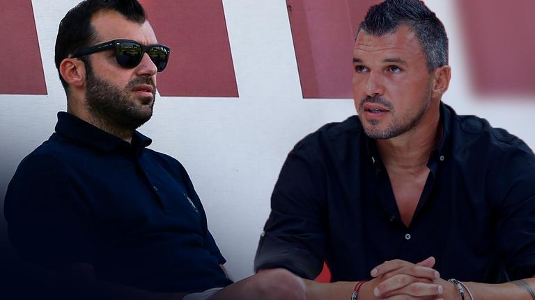 Валери Божинов и Горан Пандев се засипаха с похвали пред микрофона на Sportal.bg