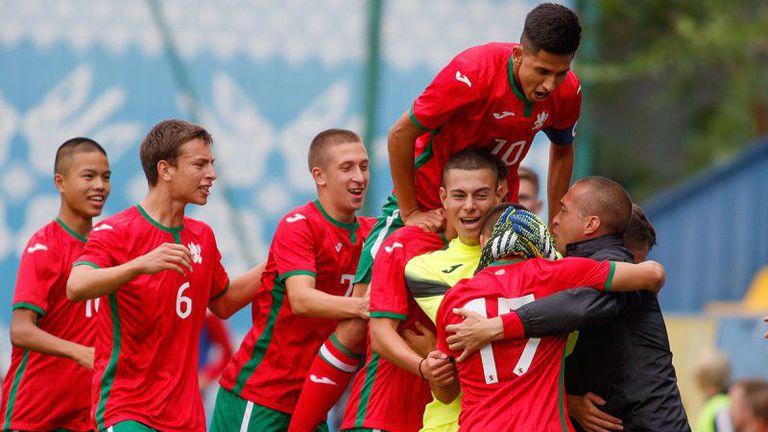 Юношеските национали сразиха Беларус на турнир в Украйна