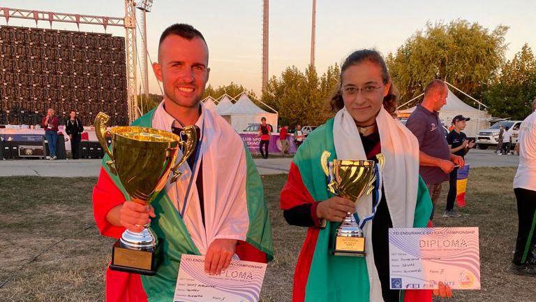 Сребро и бронз за българските състезатели на Балканския шампионат по конен спорт в Румъния