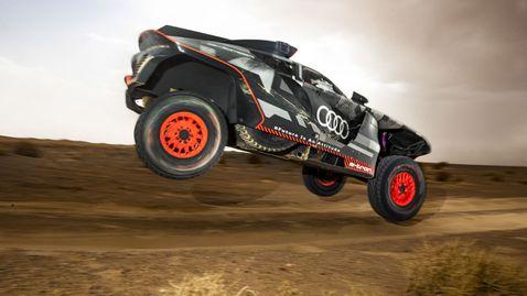 Жеги и пясъчни бури – мароканско изпитание за Audi RS Q e-tron