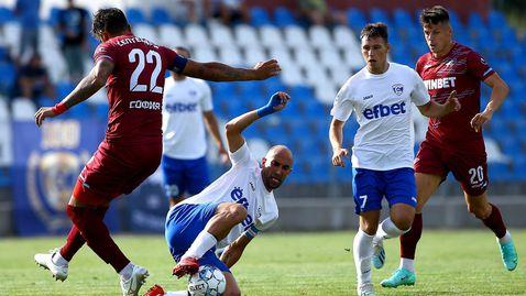 Спартак (Варна) даде сериозна заявка за челните места във Втора лига