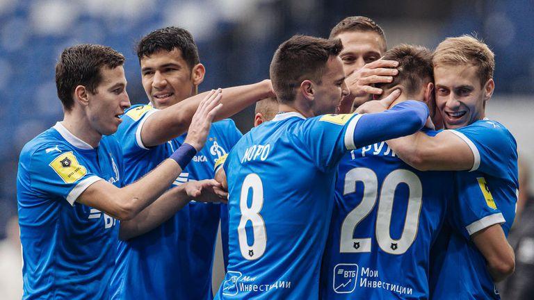 Динамо излезе втори в Русия