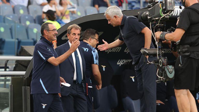 Моуриньо: Бяхме по-добри, но съдията помогна на Лацио