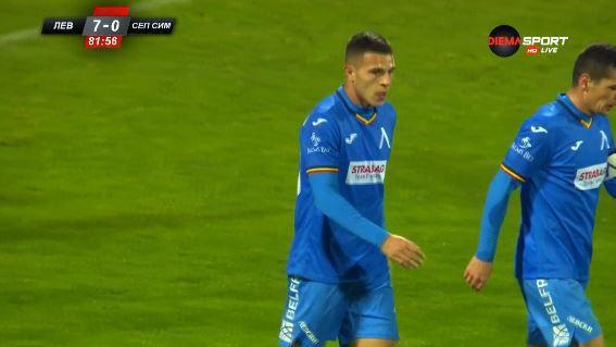 Димитър Костадинов направи резултата 7:0 за своя тим