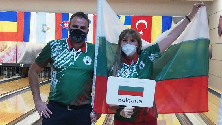 Марина Стефанова и Пламен Станчев представят България на Европейската купа на шампионите