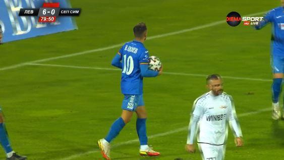 Борислав Цонев вкара шести гол във вратата на Тута