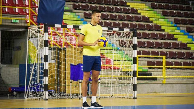 Млад талант в състава на Хебър за реванша срещу Шахтьор в Шампионската лига