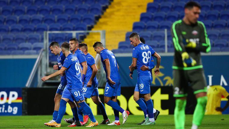 Левски помете Септември (Симитли) със седем гола