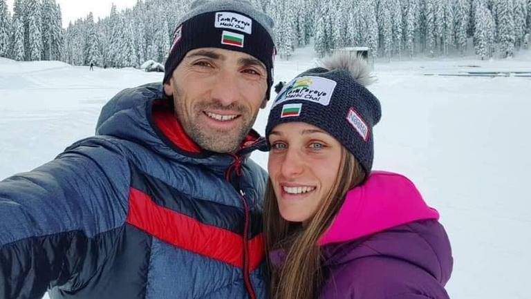 Милена Тодорова и Влади Илиев със злато в преследването на държавното по биатлон