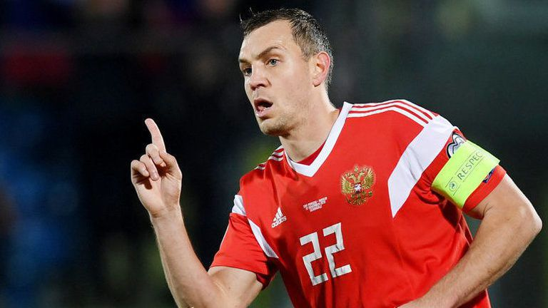 Дзюба поведе Русия към победа над Словения (видео)