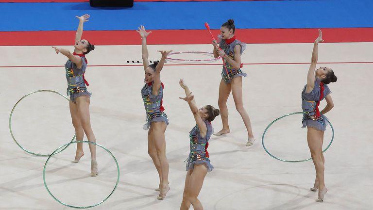 Световна купа по художествена гимнастика - ансамбъл България