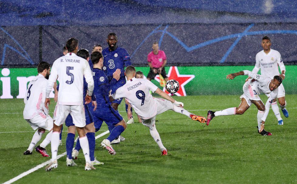 Реал Мадрид - Челси 1:1