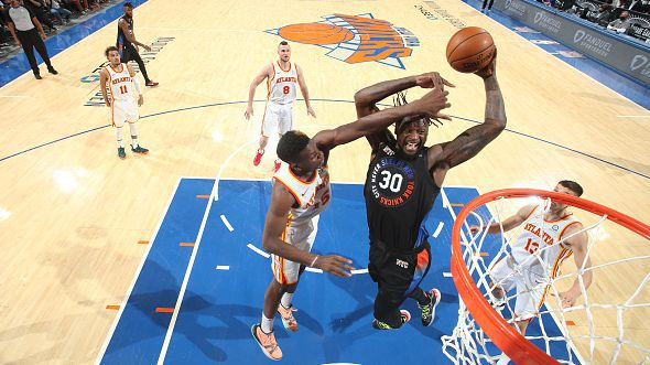 Ню Йорк изтръгна победата от Атланта и изравни серията в НБА