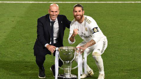Серхио Рамос се обяви против орязването на заплати в Реал Мадрид