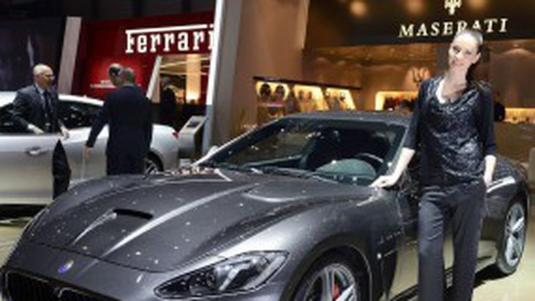 Женева 2013: Maserati GranTurismo MC Stradale
