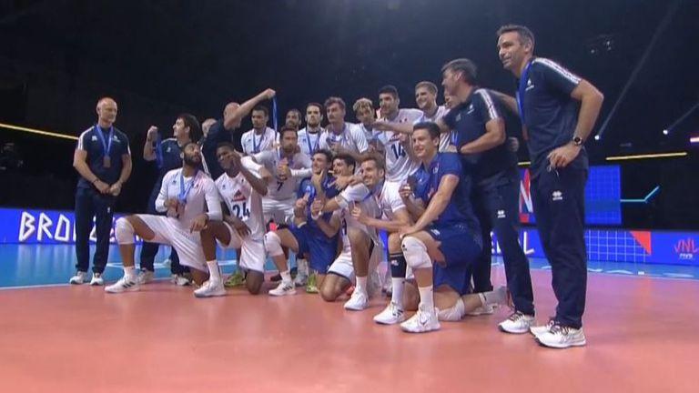 Франция победи Словения с 3:0 гейма и грабна третото място в Лигата на нациите