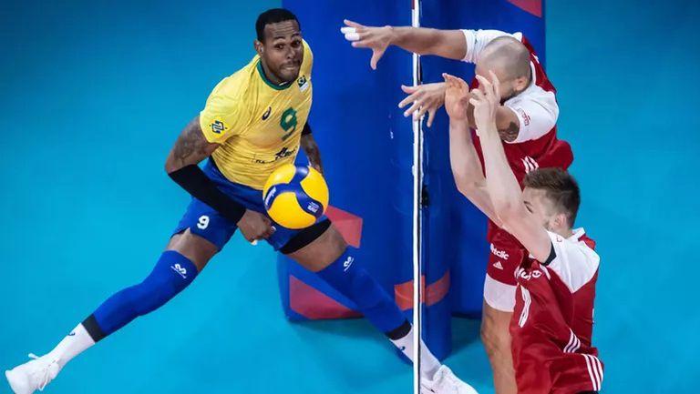Бразилия обърна Полша и триумфира за първи път в Лигата на нациите