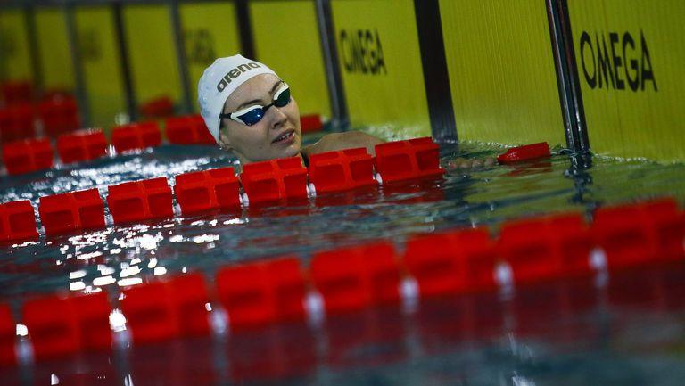Победата на Габриела Георгиева на 200 м гръб