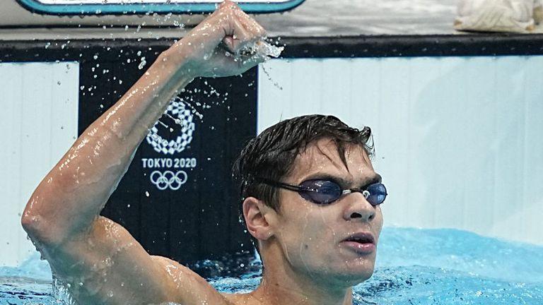 Рилов детронира Райън Мърфи от олимпийския трон на 100 метра гръб с нов европейски рекорд