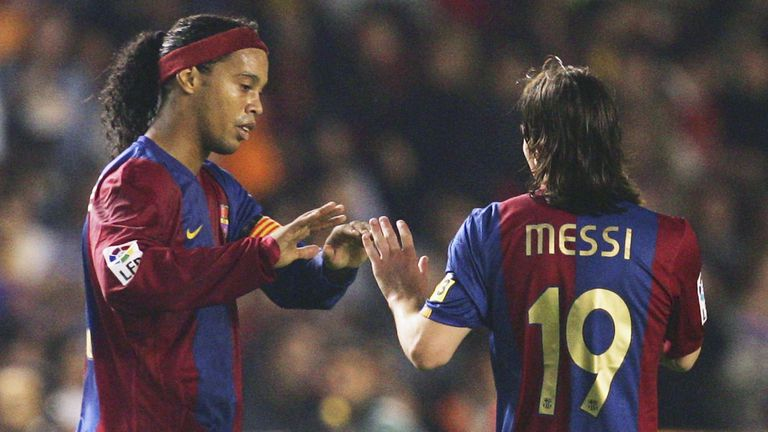 Роналдиньо с коментар за Меси