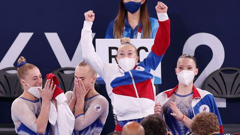 Първо злато за руските гимнастички в отборната надпревара от 29 години насам