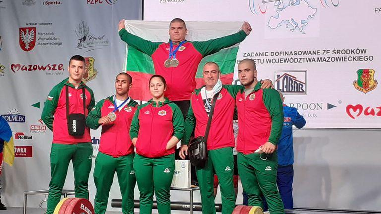 Европейският шампион за младежи в щангите Ангел Георгиев: Конкуренцията беше слаба, не е толкова яка