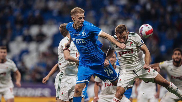 Дербито на Москва между Динамо и Локомотив остана без победител