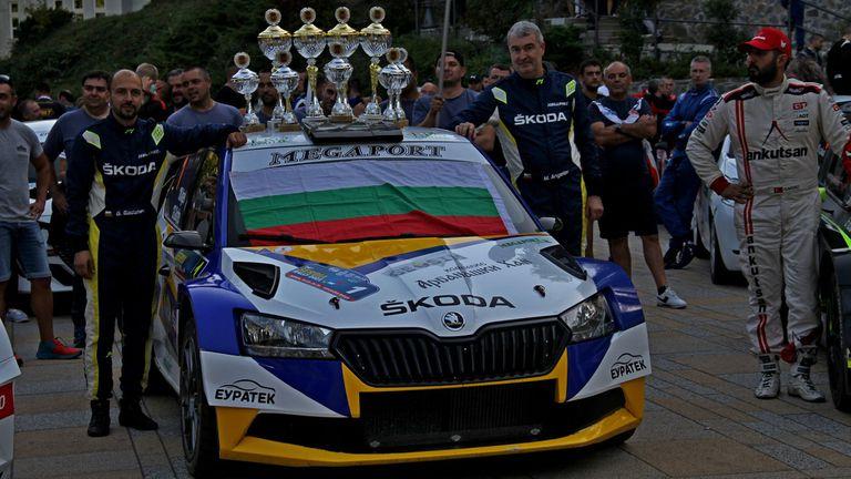 Първа победа за Мирослав Ангелов в Рали Сърбия
