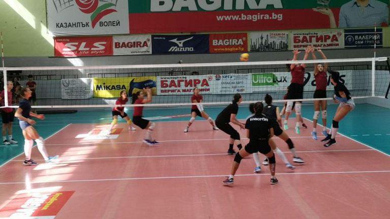 ДКС Варна победи вицешампиона Казанлък в две контроли