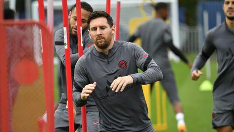Меси поднови тренировки, може да играе срещу Ман Сити